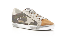 Load image into Gallery viewer, Superstar Sneaker - Camo/Coffee