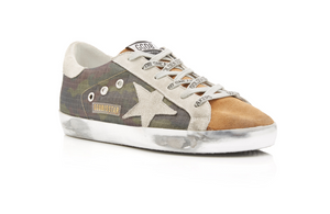 Superstar Sneaker - Camo/Coffee