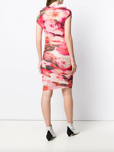 Ruched Dress - Floral