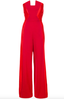 Lena Jumpsuit - Red