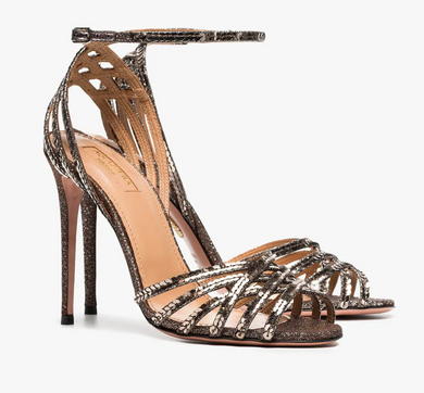 Studio Sandal 105 mm - Bronze Multi Metal