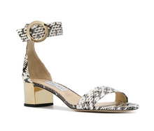 Load image into Gallery viewer, Jaimie 40 mm Sandal - Natural