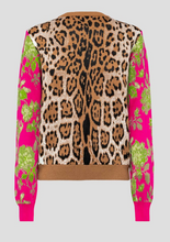 Load image into Gallery viewer, Patchwork Scoop Neck Sweater - Camel