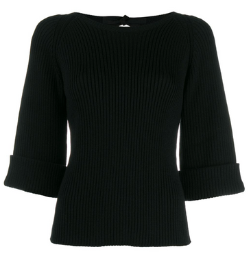Elbow Sweater - Black