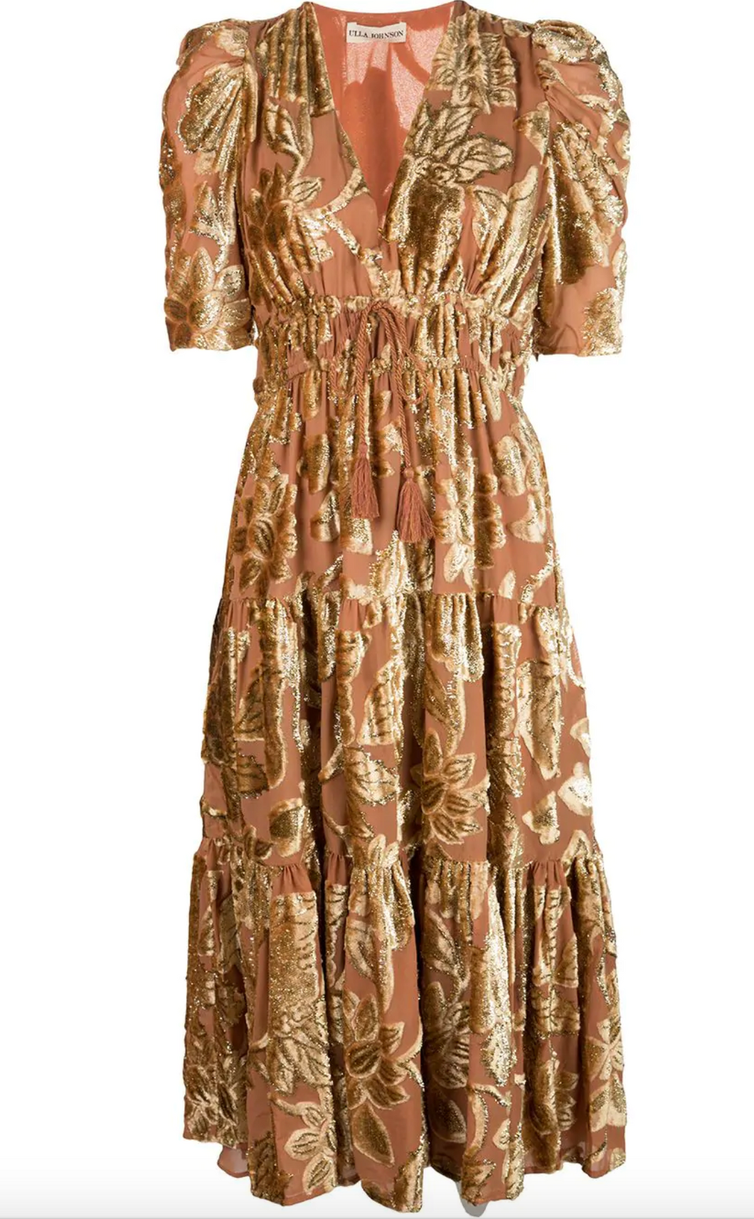 Loretta Dress - Rose Gold