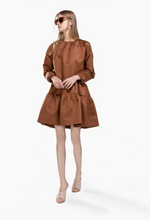 Load image into Gallery viewer, Abito Tessuto Dress - Brown