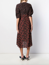 Load image into Gallery viewer, Print Dress - Black