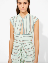 Load image into Gallery viewer, Cap Sleeve Tie Dress - Spearmint