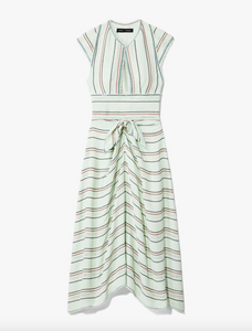 Cap Sleeve Tie Dress - Spearmint