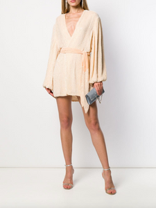 Gabrielle Robe Dress - Champagne