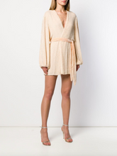 Load image into Gallery viewer, Gabrielle Robe Dress - Champagne