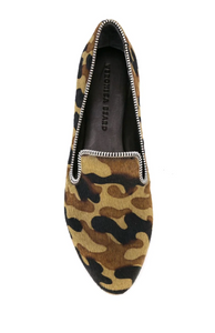 Griffin Zip Loafer - Camo