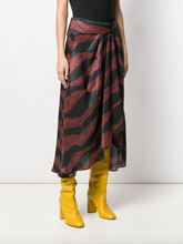 Load image into Gallery viewer, Rebecca Skirt - Red Zebra Print