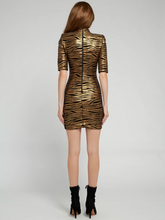 Load image into Gallery viewer, Inka Dress - Black/Bronze