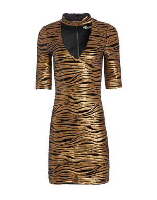 Inka Dress - Black/Bronze