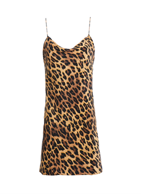 Harmony Dress - Leopard