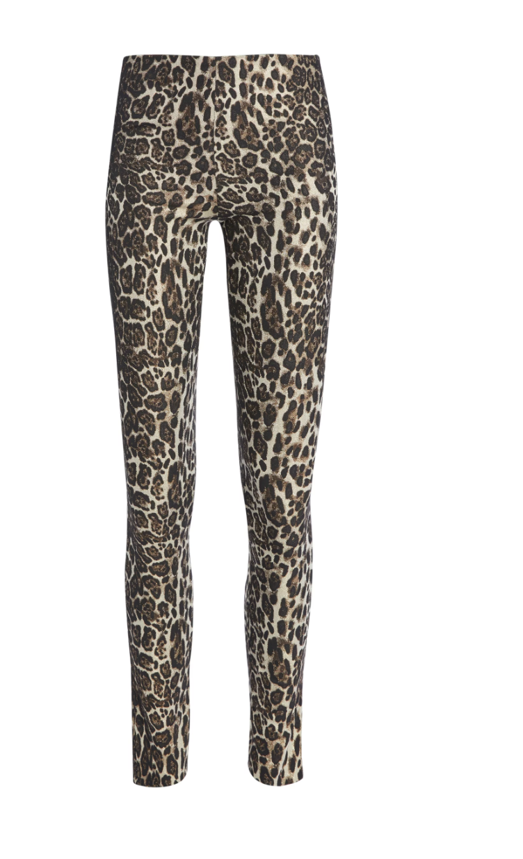 Connley Pant - Leopard Brown Multi
