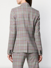 Load image into Gallery viewer, Plaid Blazer - Grey/Pink