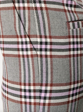 Load image into Gallery viewer, Plaid Pant - Grey/Pink