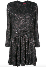 Load image into Gallery viewer, Milou Dress - Black Glitter