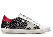 Load image into Gallery viewer, Superstar Sneaker - Leopard Sequin