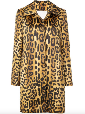 Button-front Coat - Jaguar