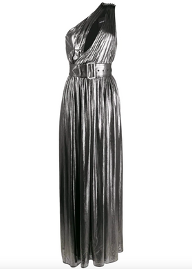 Andres Maxi Dress - Gunmetal