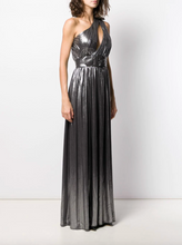 Load image into Gallery viewer, Andres Maxi Dress - Gunmetal