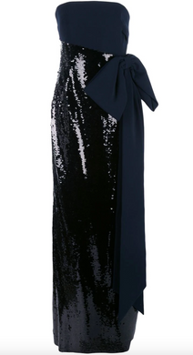 Siena Sequin Gown - Midnight Jet