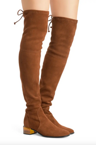 Charolet Suede Boot 45 mm - Coffee