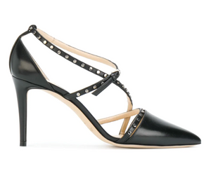 Tiff Strappy Pump 85mm - Black