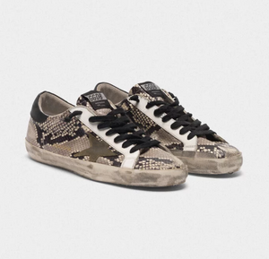 Men's Superstar Sneaker - Snake Print