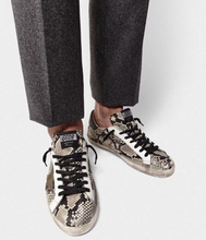 Load image into Gallery viewer, Men's Superstar Sneaker - Snake Print