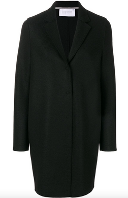 Cocoon Coat - Black
