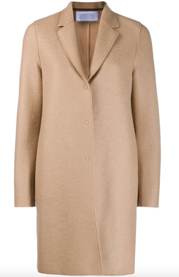 Cocoon Coat - Tan
