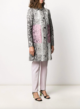 Load image into Gallery viewer, Snakeskin Coat - Pink & Beige