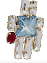 Load image into Gallery viewer, Graphic Crystal Earrings - Multi