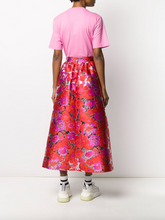 Load image into Gallery viewer, Floral Full Skirt - Red