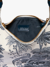 Load image into Gallery viewer, Sasha Canvas Bag - Majorca Blue Toile