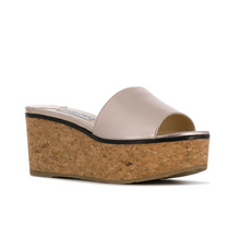 Load image into Gallery viewer, Deedee 80mm Platform Wedge - Platinum