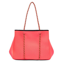 Load image into Gallery viewer, Sporty Spice Neoprene Tote - Tangerine