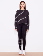 Load image into Gallery viewer, Tie Dye Oversized Sweatshirt - Coal