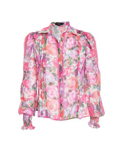 Load image into Gallery viewer, Blossom Button Front Blouse - Rose