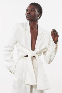 Catalina Jacket - White