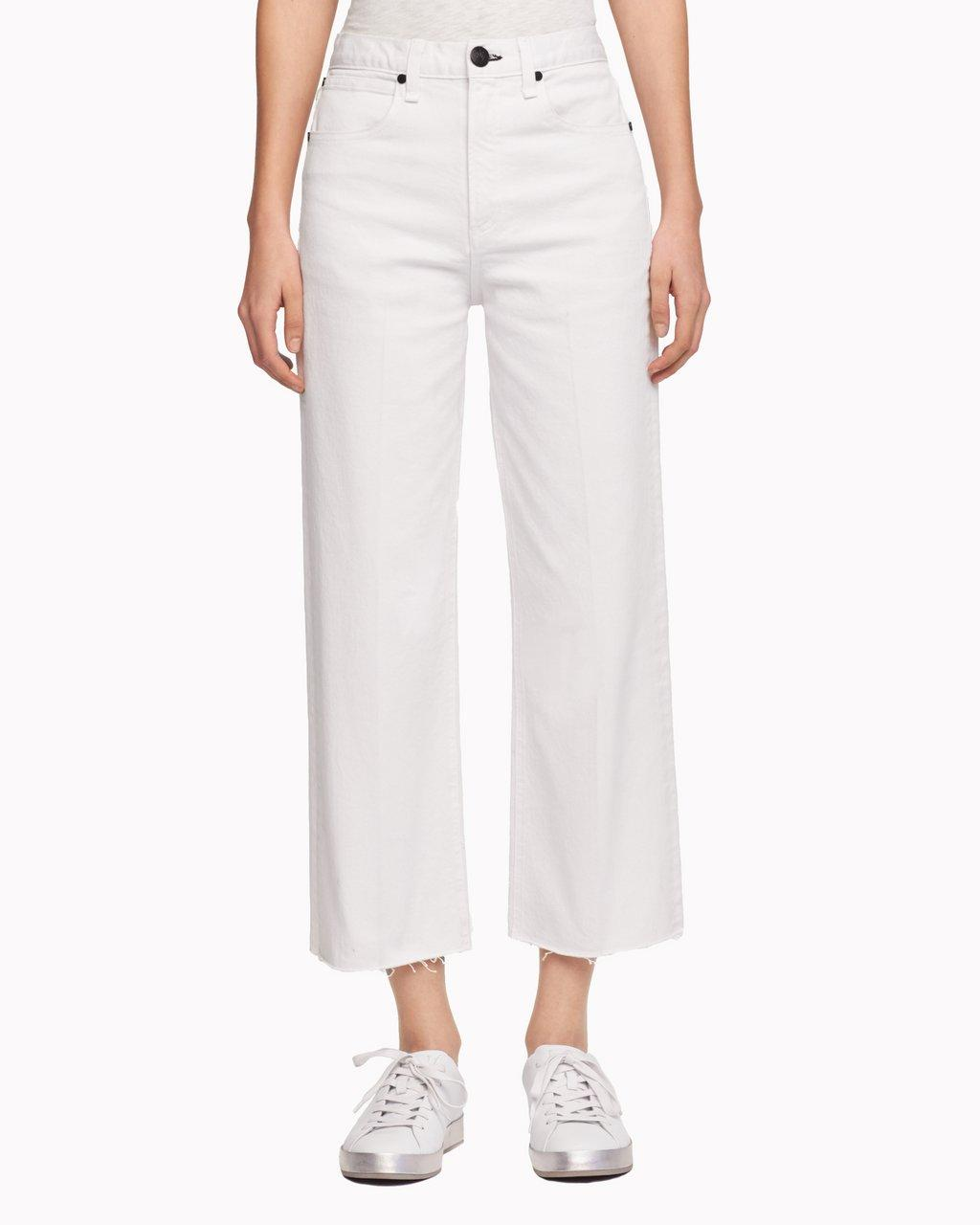 Ankle Justin Trouser Jean - White