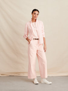 Bobby Button-down Shirt - Pale Pink