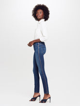 Load image into Gallery viewer, The High Waisted Looker Jean - Pink Stripe