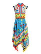 Load image into Gallery viewer, Farrah Dress - Scarf Print