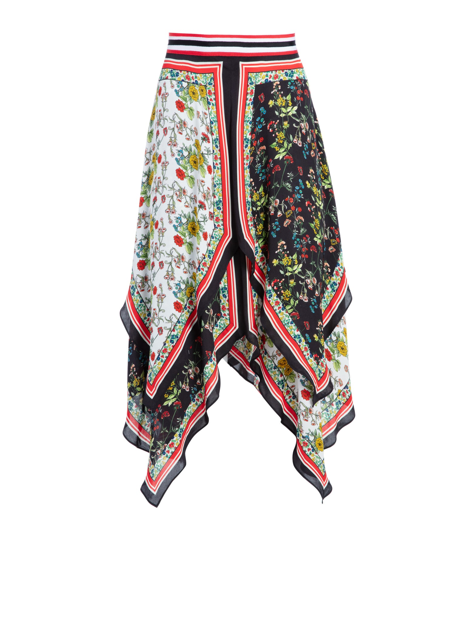 b58c07f9543 Load image into Gallery viewer, Maura Skirt - Scarf Print ...