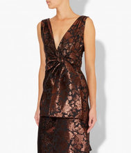 Load image into Gallery viewer, Rosalie Dress - Rose Luxe Jacquard
